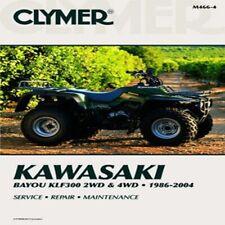 Clymer Kawasaki Bayou KLF300 2WD 1986-2004 4WD 1989-2004 Repair Manual M466-4