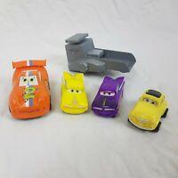 Disney Pixar Cars Pull Back And Go Cars Plastic Racing