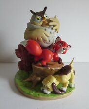 Vintage Disney Magic Memories The Fox and the Hound Figurine LE Japan