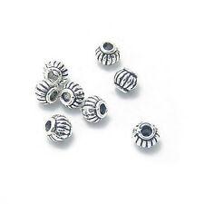 1 Packung Tibetanisch Silbern Perlen Kürbis Form Kugeln DIY Handarbeit Juwel TOP