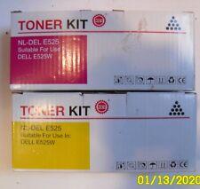 Toner Kit -NL-Del E525 For Use Dell E525W 2 Color  Yellow,  Magenta?