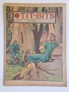 VERY RARE! - THE PHANTOM! - TIT-BITS #1783 (1943) - ORIG. IN SPANISH - ARGENTINA