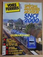 Voies ferrées n°118 mars 2000 BB 12000 Vapeur Bosnie BB 36000 Jouef 141 R 1207