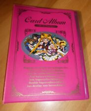 SAILORMOON CARD ALBUM STATION HOLDER PRISM CARTE ULTRA RARE MADE IN JAPAN 02 NM