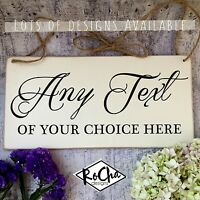YOUR CHOICE OF TEXT Wedding Sign Engagement Plaque Page Boy Bridesmaid