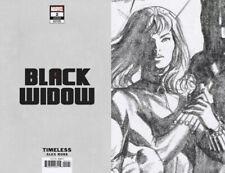 Black Widow #2 Nm Ross Timeless Virgin Sketch 1:100 Variant 10/7 2020