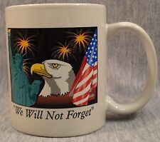 911 Coffee Cocoa Mug Nostalgia Patriot Patriotic Americana America Ceramic