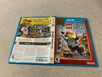 LEGO City Undercover (Nintendo Wii U 2013) NINTEDO SELECTS COMPLETE FAST SHIPPIN