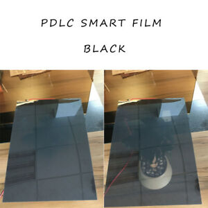 Electronic Control PDLC Black Smart Material Glass Film for Room Partition TEST