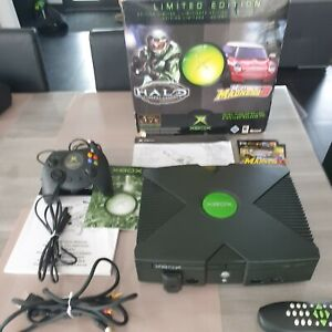 Microsoft Xbox première generation + jeu + telecommande