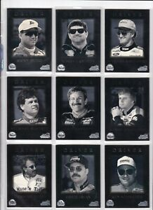 1996 Action Packed Credentials SILVER SPEED PARALLEL #33 Bobby Hamilton 1 CARD!