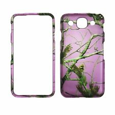 Pink Fall Camoflauge  RT for LG Optimus G Pro E980  Feel Case Cover