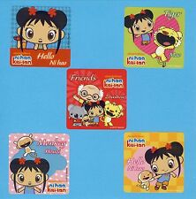 10 Ni Hao, Kai-Lan  - Large Stickers - Party Favors