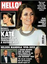HELLO,KATE MIDDLETON,Nelson Mandela,Kate Moss,Michelle Dockery,Nigella Lawson
