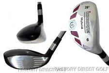 New Made Left Hand Handed #6 Hybrid Taylor Fit Graphite Regular Rescue Iron Wood