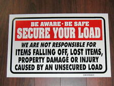 General Business Sign: Secure Your Load