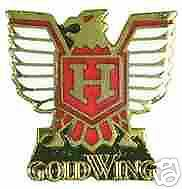 Pin Anstecker Honda Goldwing Gold Wing H - Logo Motorrad Ar. 0322 Motorbike Moto