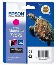 Epson Turtle T1573 (25.9ml) Ink Cartridge (Vivid Magenta)