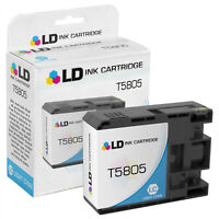 LD T580500 T5805 Light Cyan Ink Cartridge for Epson T580 Stylus Pro 3800 3880