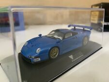 Rare Minichamps Porsche GT1 1:43 N Hpi Bbr Tsm Special Modell Fahrzeug Magazine