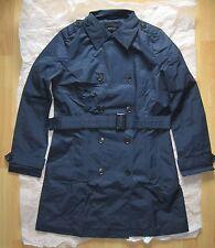 Trenchcoat by Tchibo Gr.42 Damen Dunkelblau Mantel Jacke Übergang Sommer NEU TOP