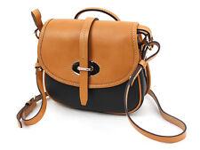 Dooney & Bourke Verona Bionda Cristina Leather Saddle Bag Black EJ1277BL