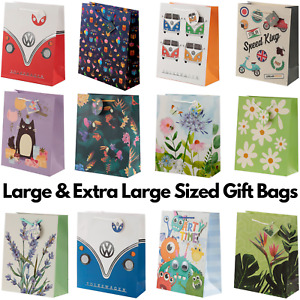 Large & Extra Large Party Celebration Gift Bag Card Tag Present Birthday Wedding