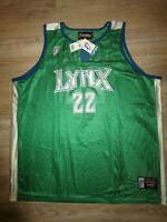 Betty Lennox #22 Minnesota Lynx WNBA Jersey XL Autograph Signed NEW
