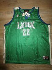 Betty Lennox #22 Minnesota Lynx WNBA Jersey XL Autograph Signed NEW