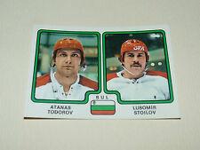 # 351 TODOROV STOILOV BULGARIA BULGARIE PANINI HOCKEY 79 ICE GLACE 1979