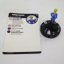 Heroclix Star Trek Away Team set Nurse Chapel #009 Common figure w/card!