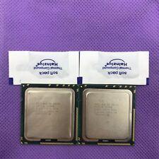 Matching Pair Intel Xeon X5650 Six Core Processor 2.66 GHz 12MB SLBV3 CPU