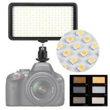 Andoer 228pcs LED Studio Video Light Lamp Panel for Canon Nikon DSLR Camera E8N2
