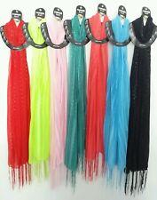 Hot Solid Wholesale 12pc  Shawl Long Scarf Stole Wrap Women scarves bundle