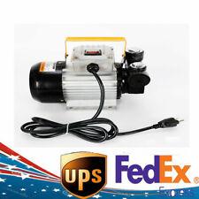 Profession 110V Ac 60L/min 550W Oil Diesel Fuel Transfer Pump Self Priming Usa< 00004000 /a>