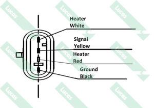 LEB697 Lambda Sensor - EAN 5021374214973 - EO Quality - Lucas - Brand new