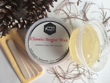 %100 Natural Sugar wax hair removal remover kit - 10oz -284mg