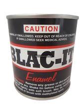 Joseph Lyddy Blac-It 250ml fast drying enamel black paint metal engine horse