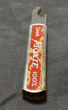 Vintage Drink Moxie 100% Frank Archer Moxieland Ad Retractable Bottle Opener