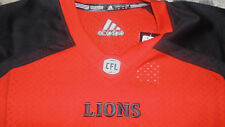 BC LIons CFL Adidas Jersey Mens Size Small NEW Orange