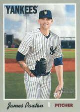James Paxton 2019 Topps Heritage #138 Yankees