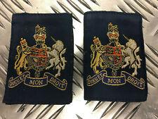 Genuine British RAF Warrant Officer WO Rank Slides 1 pair MOD - RAFB20