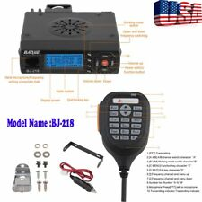 Mini Bj-218 Car Mobile Radio Dual Band Vhf/Uhf 136-174/400-470Mhz Transceiver Vp