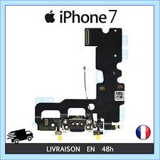 NAPPE CONNECTEUR DE CHARGE PORT LIGHTNING MICRO ANTENNE RESEAU IPHONE 7 NOIR