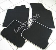 Seat Arosa Bj. ab 01.01 Fußmatten Velours  schwarz mit Rand grau