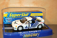 Slot SCX Scalextric Superslot H3156 Ford RS 200 N#8 Grundel 1986 Rally of Sweden