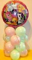 "18"" FOIL BALLOON TABLE DISPLAY MY LITTLE PONY - BIRTHDAY PARTY - AIR FILL"