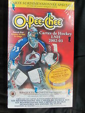2002-03 TOPPS O PEE CHEE HOCKEY BLASTER  SEALED BOX