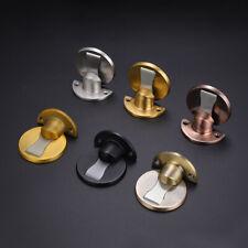 Self Adhesive Stainless Steel Strong Magnetic Door Stopper Floor Mount Door Stop