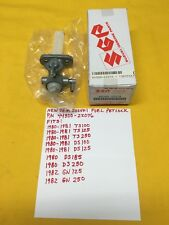 NEW OEM SUZUKI Fuel Petcock 80-81 TS 100,125,TS185,TS250,DS,GN AHRMA